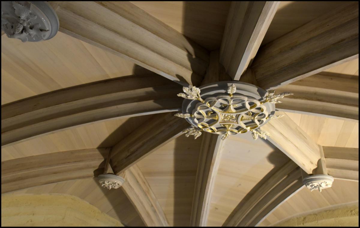 Clé de voute Eglise Morlanne