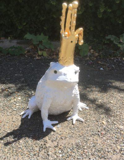 Crapaud roi blanc