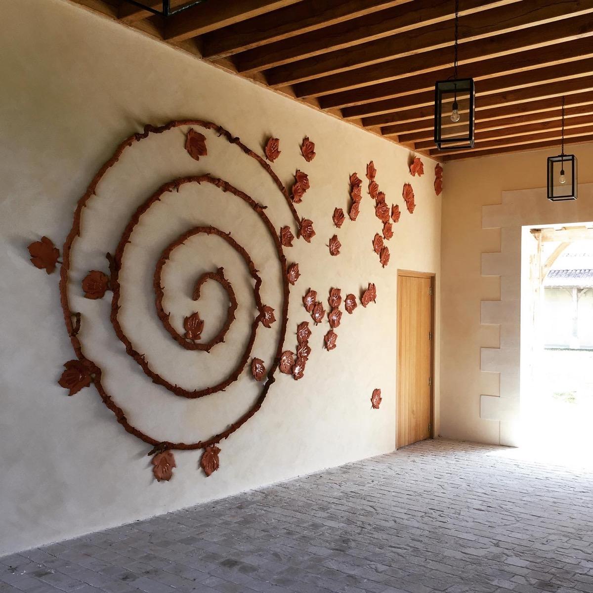 Décor mural chateau Labégorce