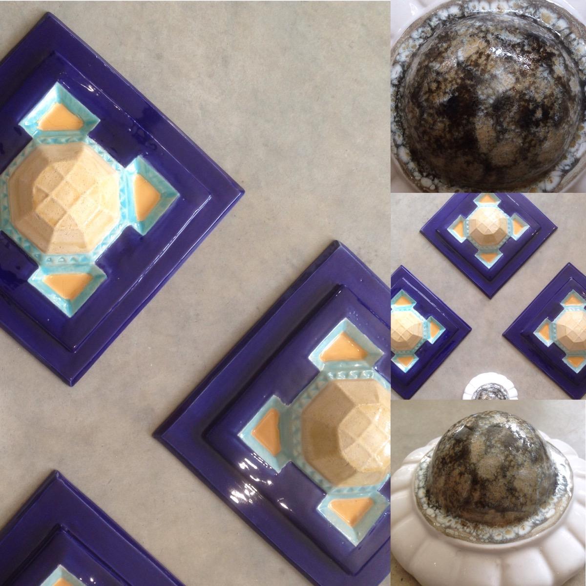 Décors façade en céramique