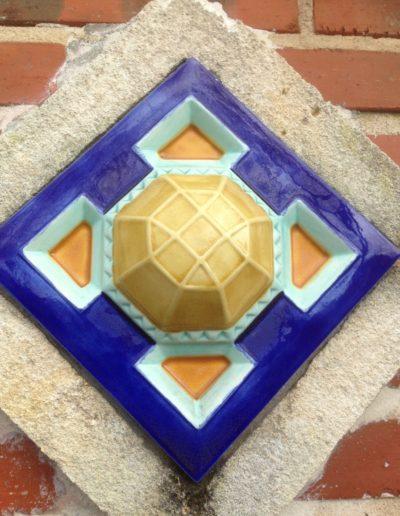 Détail décor façade