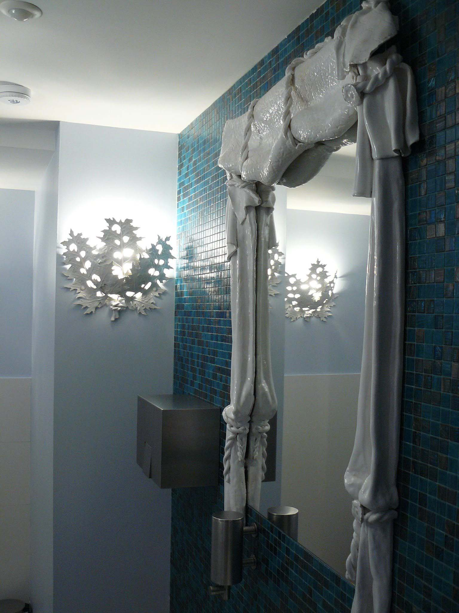 Miroir et luminaire Grand Théatre