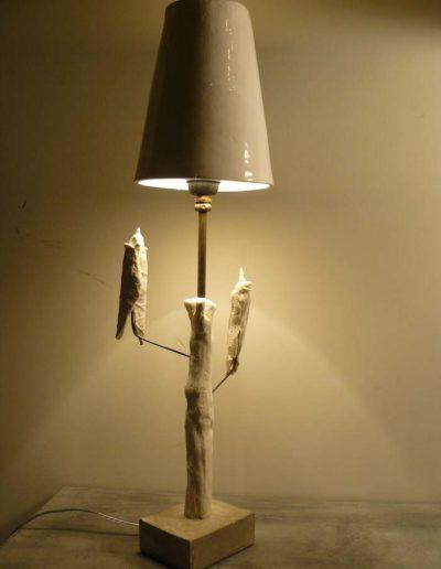 Lampe à poser oiseaux