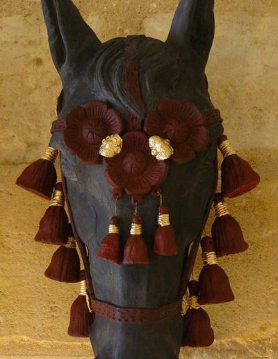cheval pompon