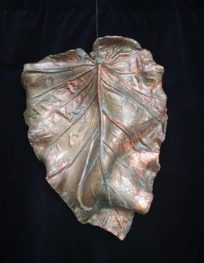 grande feuille cuivre